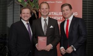 """Buchpräsentation """"Digitaliserung braucht Leadership"""" mit den Herausgebern Elmar Niederhaus und Helmut Fuchs"""
