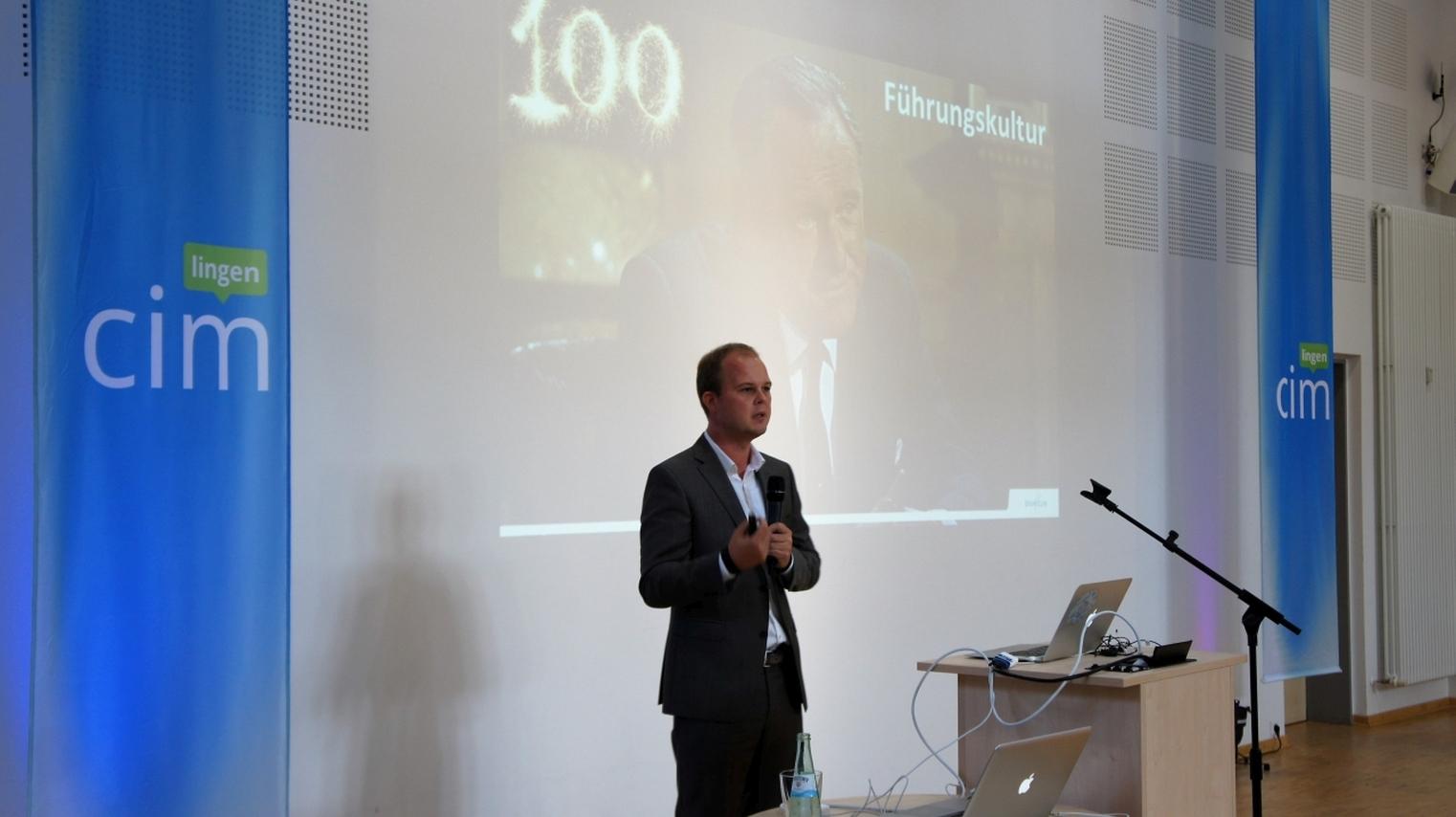 Nico Lüdemann auf der CIM Lingen 2016