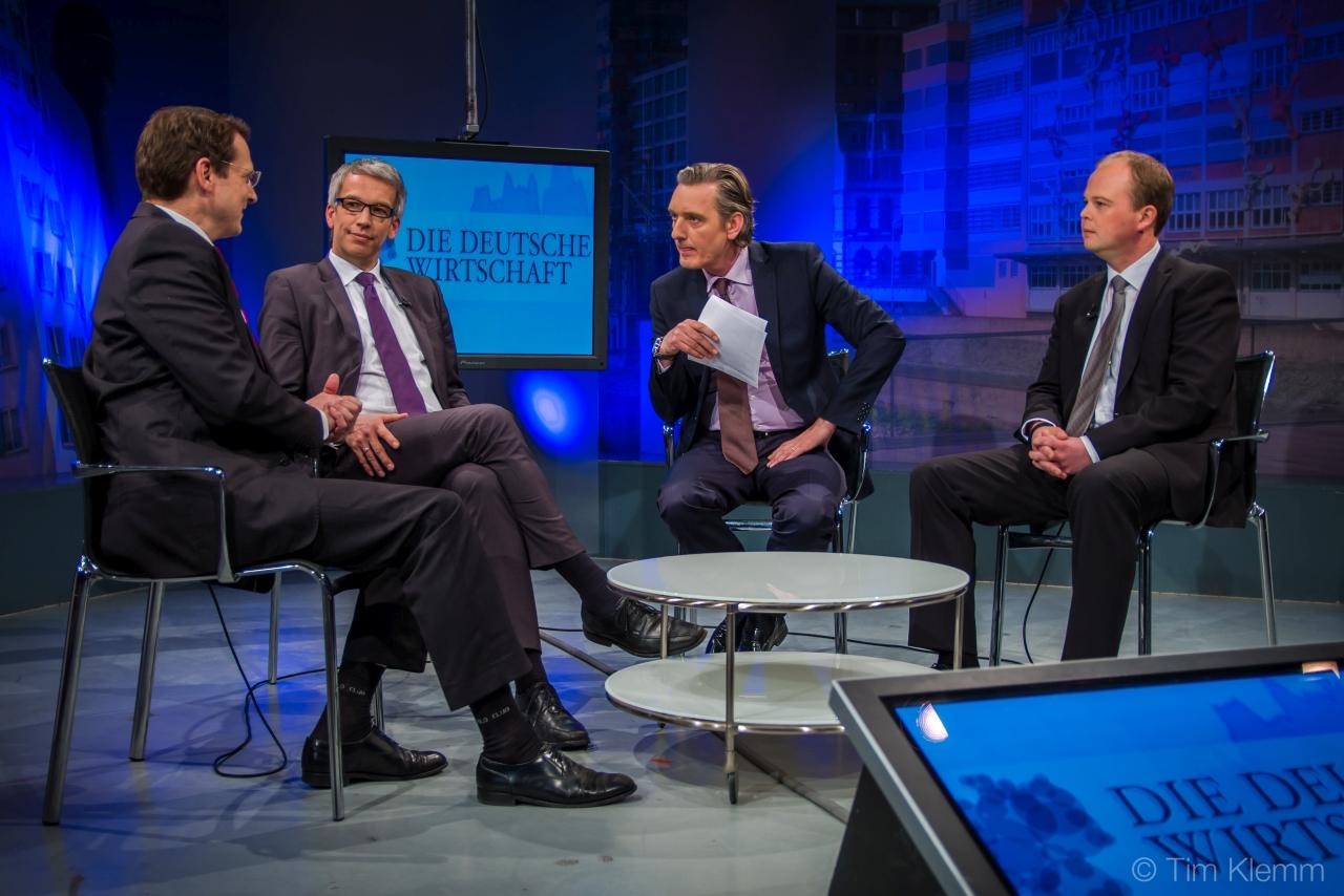 """Nico Lüdemann im Gespräch in """"Die Deutsche Wirtschaft TV"""""""