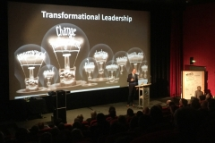 Nico Lüdemann über Transformational Leadership auf dem Kinoforum 2018