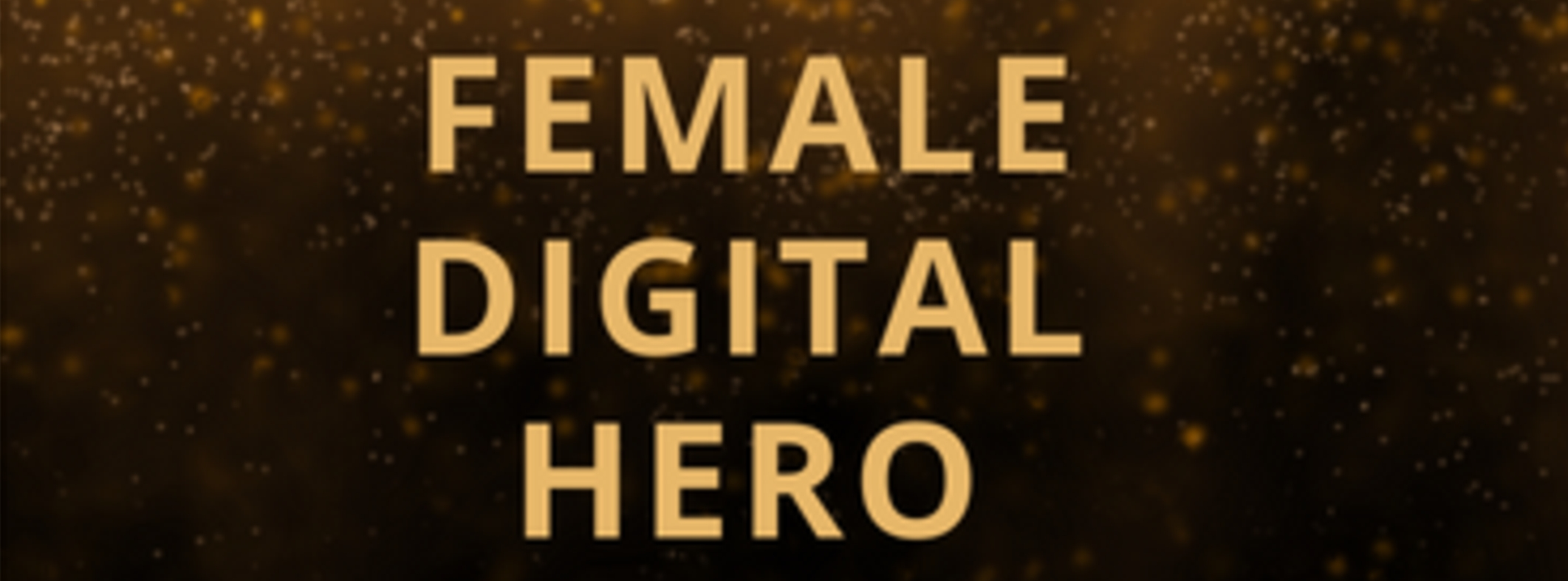 Digital Female Leader Award